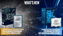 إنتل تعلن عن سلسلة معالجات Xeon W..الأقوى منهم بـ 18 نواة