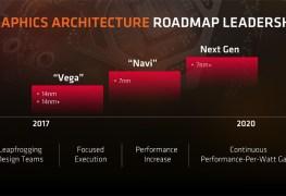 معلومات: بطاقات الجيل القادم AMD Navi بدقة 7nm ستطلق في شهر أغسطس 2018
