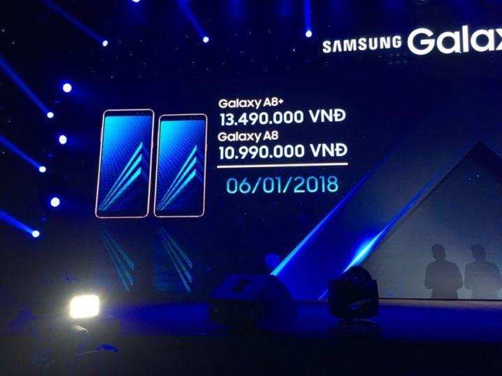 هاتفي (Galaxy A8 (2018 و (A8+ (2018