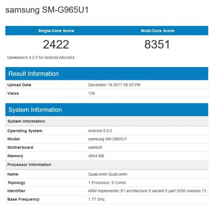 هاتف Galaxy S9+