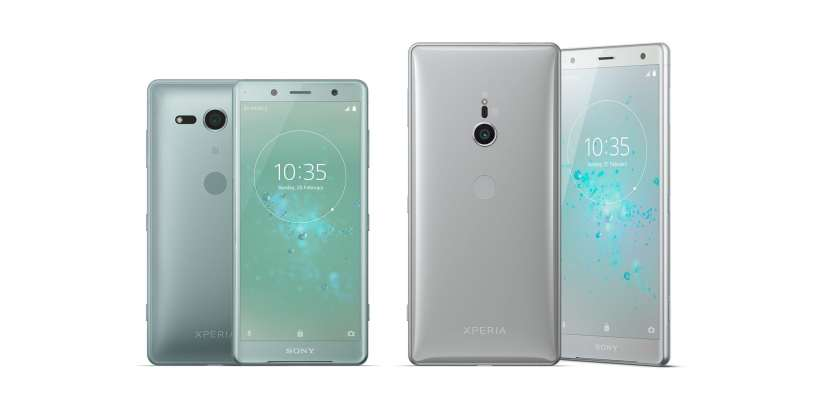 هاتفي Xperia XZ2 و XZ2