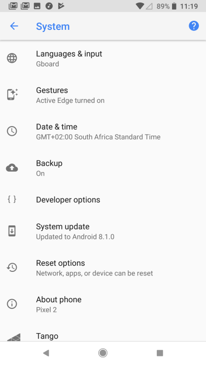 Andoid P Preview on Google Pixel - UI (3)