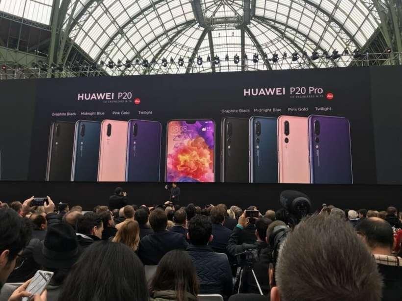 Huawei P20 P20 Pro Colors