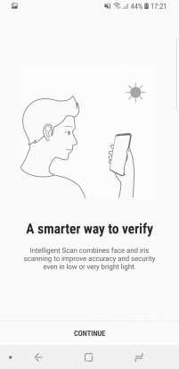 Samsung Galaxy S9 Smart Unlock Setup