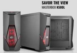 مهندسي Cooler Master يستعرضون مهارتهم في التصميم مع كيس MasterBox K500L