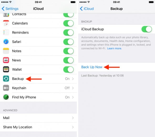 Restore Data from iCloud using dr.fone