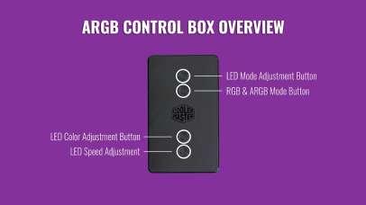 Cooler Master Wired ARGB Contoller 1