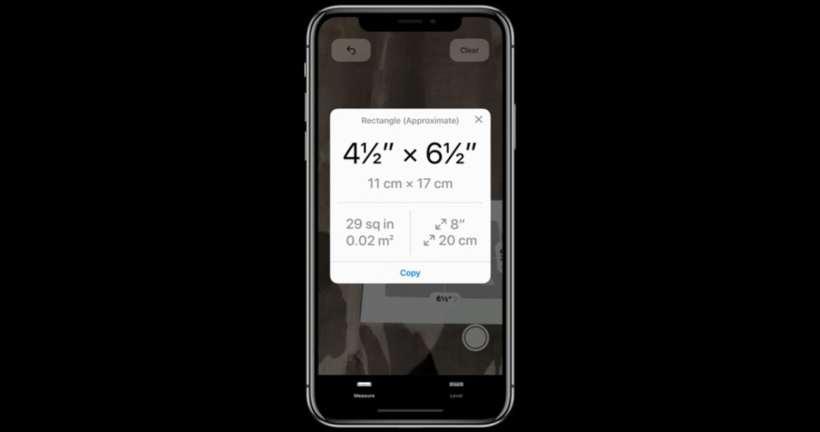 Measure ، آبل ، iOS 12 ، الواقع المعزز ، arkit 2