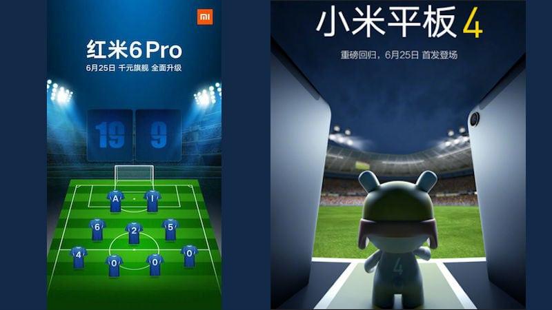 Mi Pad 4 ، تابلت شاومي ، Redmi 6 Pro ، Xiaomi ، تابلت شاومي الجديد