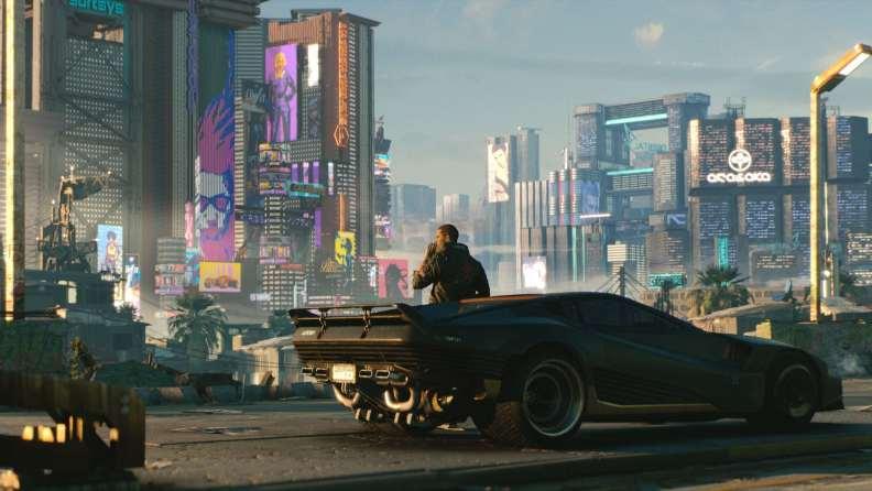 Cyberpunk 2077 In-Game 2 E3 2018
