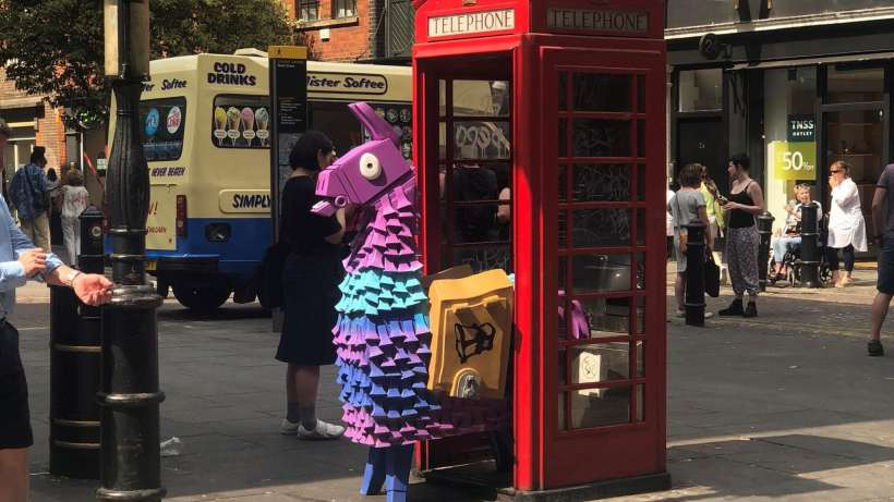 Llama in London