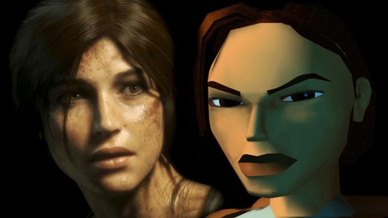 Lara Croft Tomb Raider 1996 - 2018
