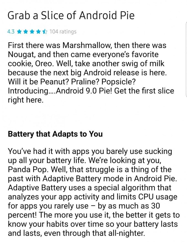 تسريب موعد تحديث جالكسي S9 إلى Android 9.0 Pie
