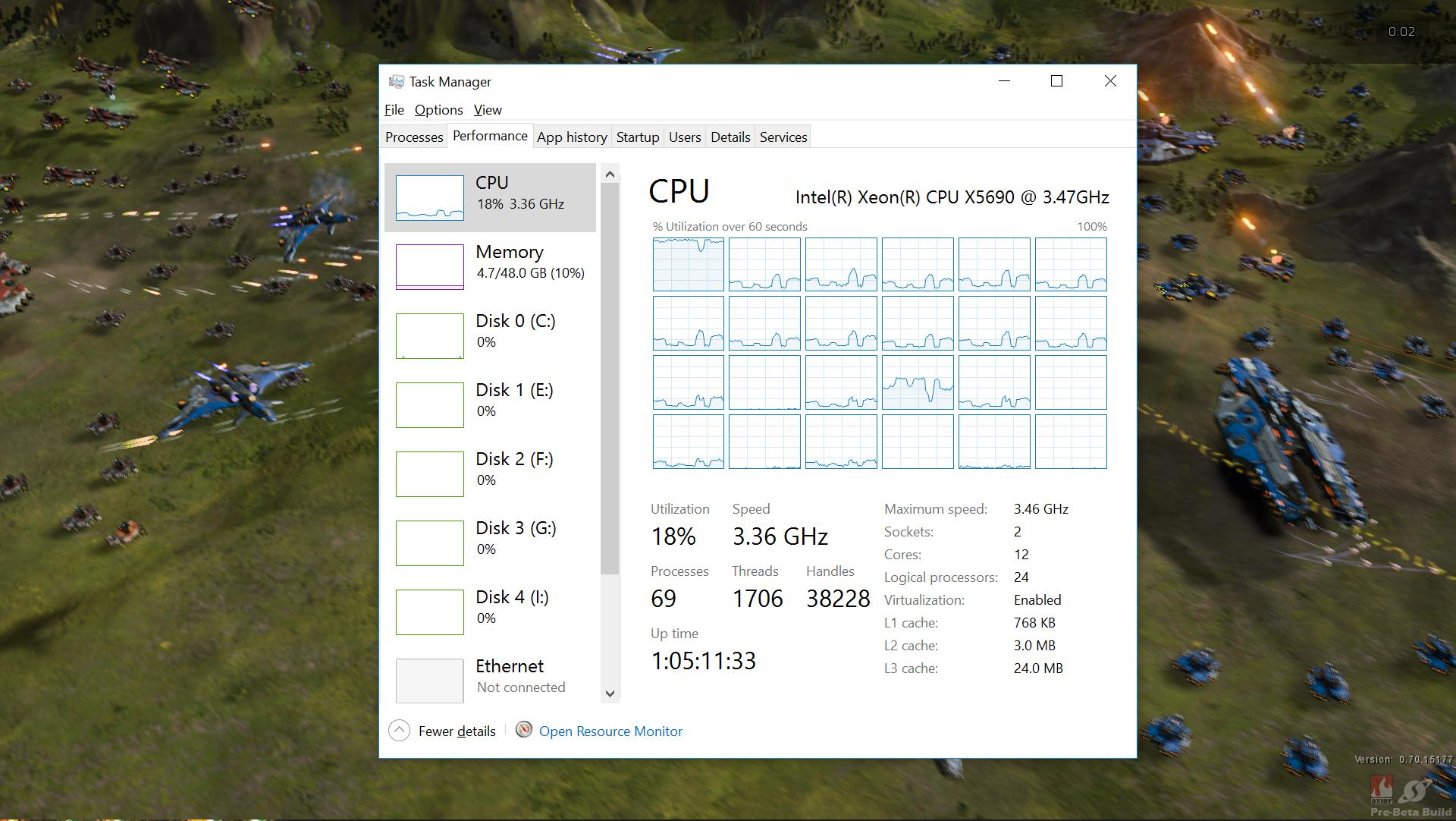 games with multi threads