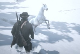 Red Dead Redemption 2 White Arabian Horse