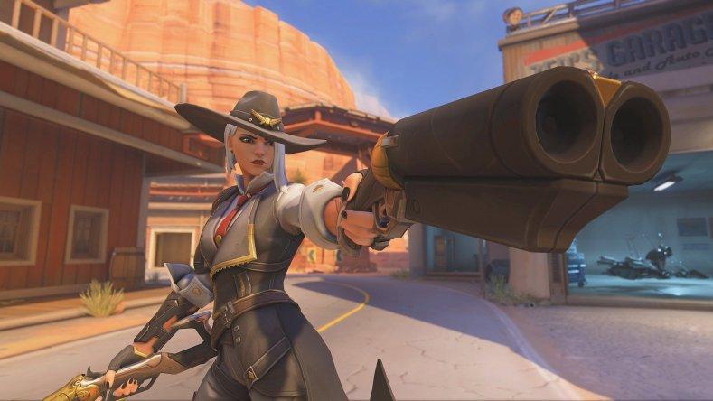 Overwatch Ashe BlizzCon Blizzard