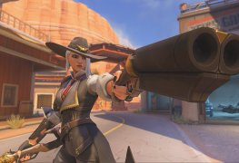 Overwatch Ashe BlizzCon Blizzard