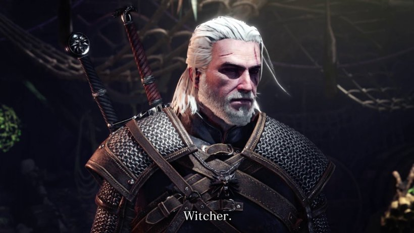 Monster Hunter World The Witcher 3 Capcom Geralt