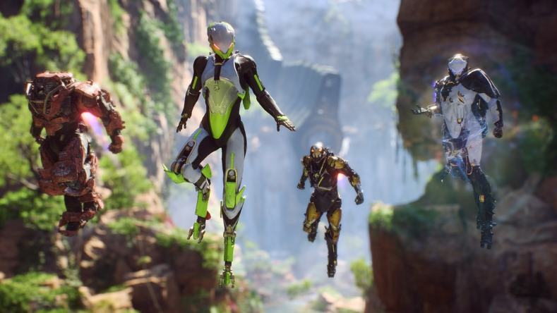 Anthem Bioware Demo Lost Arcanist