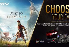 MSI Ubisoft Ambient Link Synchronized game lighting assassin's creed odyssey ES 2019