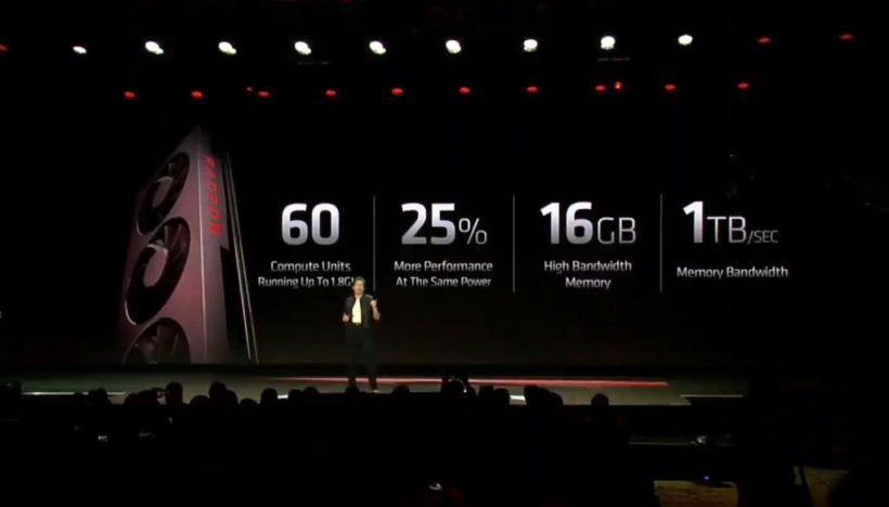 AMD Radeon VII Lisa Su RTX 2080 CES 2019