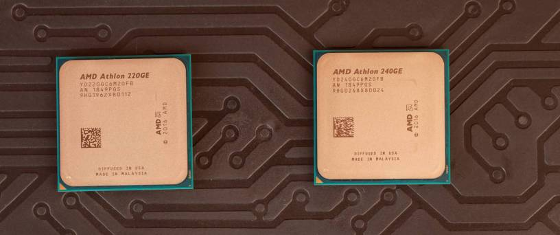 AMD ATHLON 220GE & 240GE