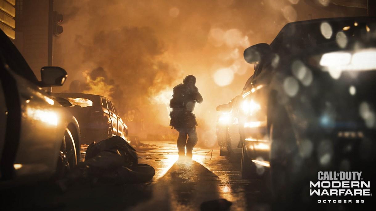 call of duty modern warfare infinity ward activision