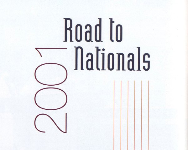 The Road to Nationals 2001