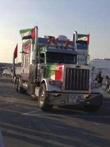 UAE National Day 2013 truck