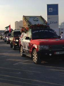 UAE National Day car Parade 2013