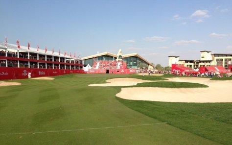 HSBC Golf Championship 2014 at Abu Dhabi Golf Club