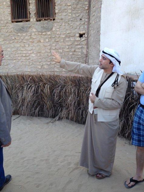 Mohammed, Qasr al Hosn fort guide
