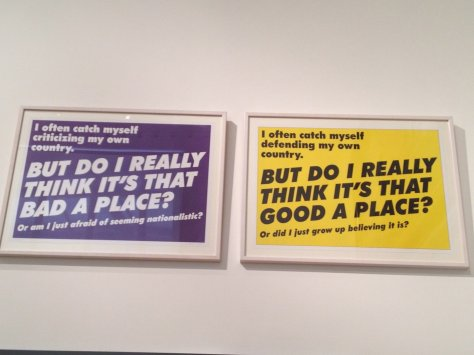 Thought provoking stuff at the National Gallery of Denmark