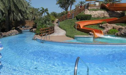 Emirates Palace Hotel, West Beach Club & Cascades Pool Bar