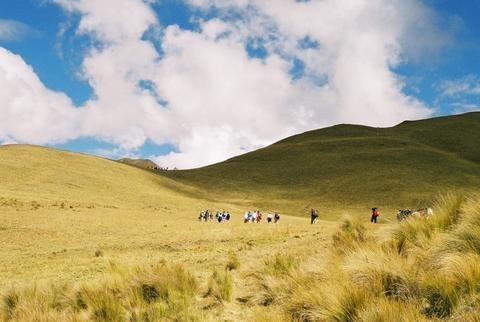 Trekking astounding Peru