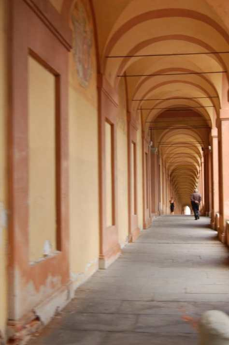 Six hundred and sixty six arches make up the famous 3.8km Portico of San Luca