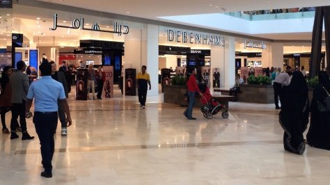 The largest Debenhams store outside of the UK!