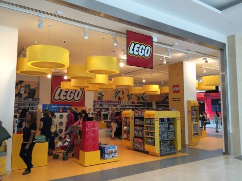 The UAE's first Lego store