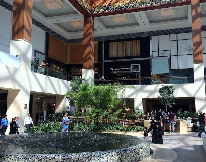 Inside the new Yas Mall, Yas Island, Abu Dhabi