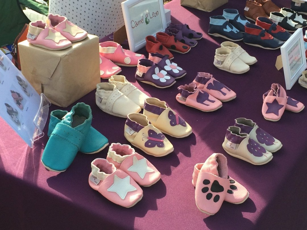 Super cute leather baby shoes!