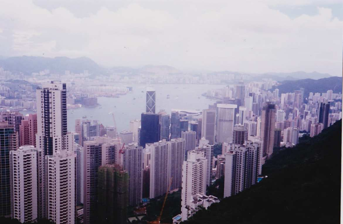 Hong Kong view from Peak