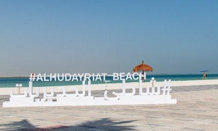 Al Hudayriat beach Abu Dhabi