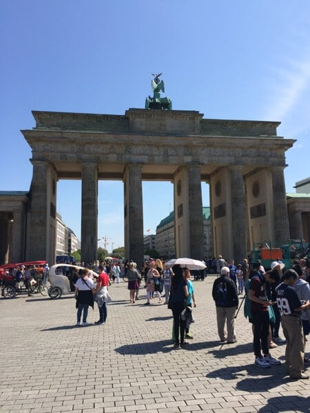 Berlin Brandenbueg Gate Aug 2015 Arabian Notes 86
