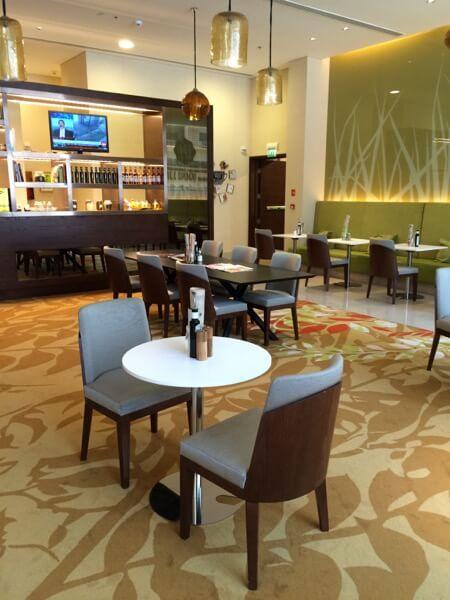 Fifth Street Cafe Courtyard Marriot WTCAD Abu Dhabi Arabian Notes 15