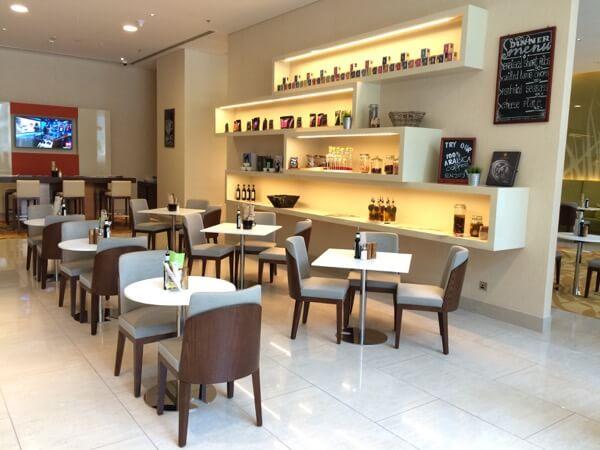 Fifth Street Cafe Courtyard Marriot WTCAD Abu Dhabi Arabian Notes 16
