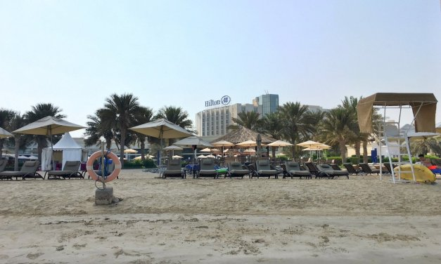 Staycation: Hilton Abu Dhabi