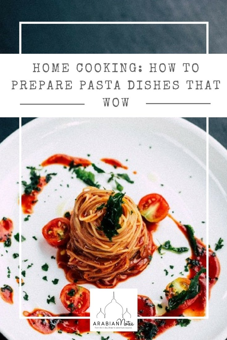 How to prepare the perfect pasta dish at home with just three simple ingredients: Head Chef Andrea Falcone at Roberto's Abu Dhabi gives the lowdown on how to produce wow inducing pasta dishes at home.