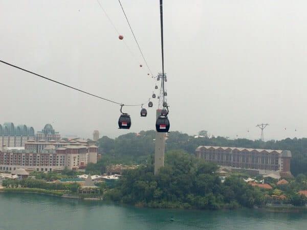 Singapore September 2015 Sentosa Island Cable Car Arabian Notes 18
