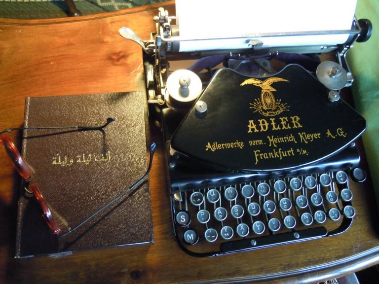 maquina de escribir noches