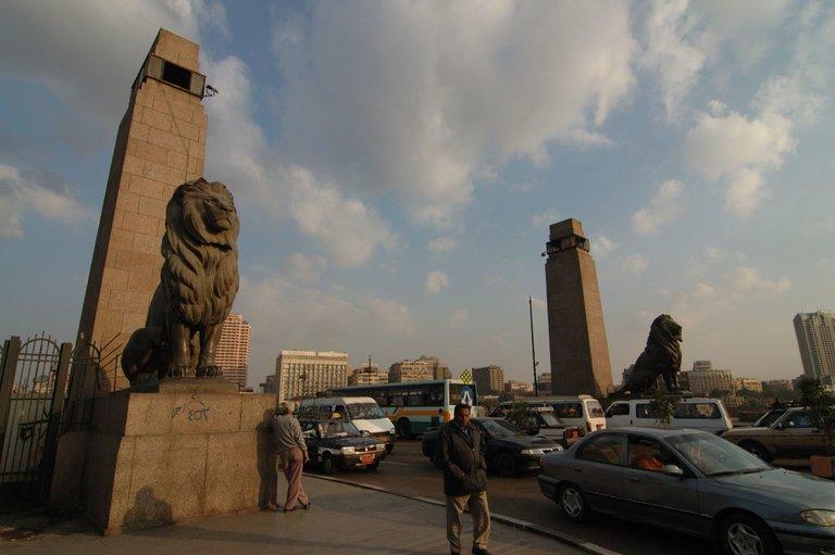Puente Qasr al-Nil, El Cairo